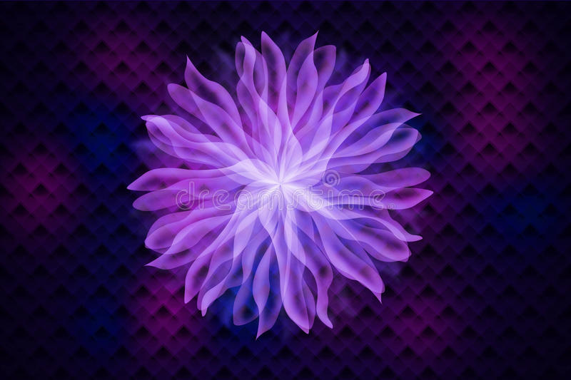 Download Abstract flower stock illustration. Illustration of color - 34435783