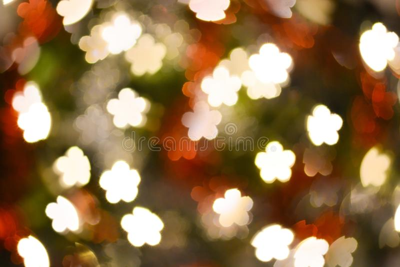 Abstract flower shape bokeh for background. Abstract flower shape bokeh for texture background beautiful blink bloom blooming blossom blur blurred bright stock image