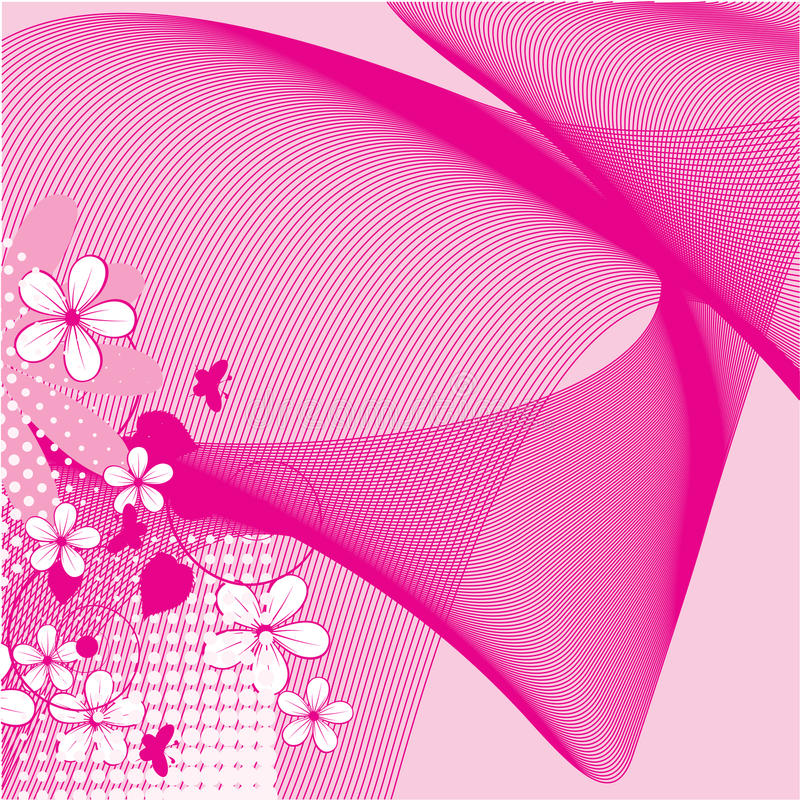 Download Abstract Flowers Background Stock Vector - Image: 23710212