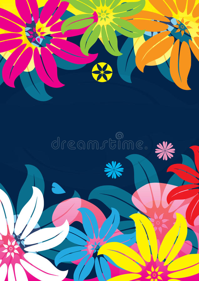 Download Abstract Flowers And Pond Feel_eps Royalty Free Stock Image - Image: 17251286