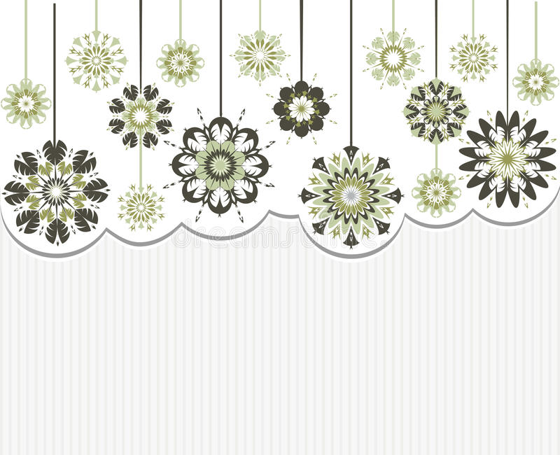 Download Abstract Flowers On Striped Background Stock Vector - Illustration: 23299226