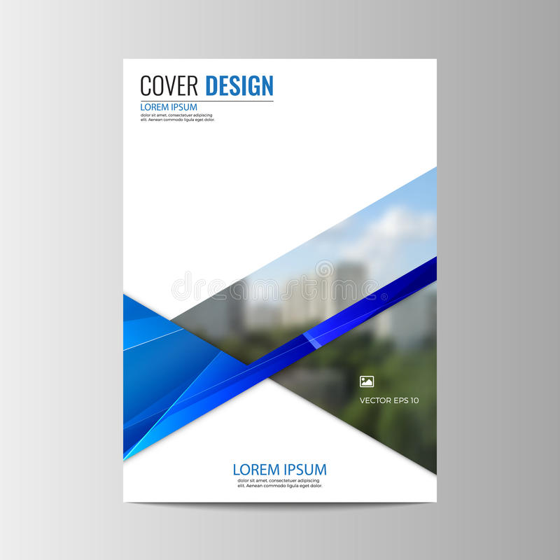 Abstract flyer design background. Brochure template. Can be used for magazine cover, business mockup, education, presentation, report. a4 size with editable royalty free illustration