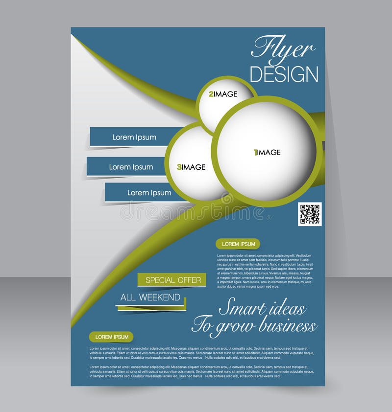 download abstract flyer design background brochure template stock vector illustration of idea - Flyer Design Ideas