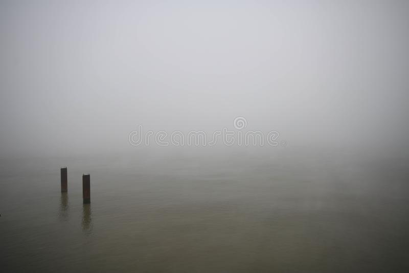 Abstract Foggy Background Cold Mysterious Environment ...