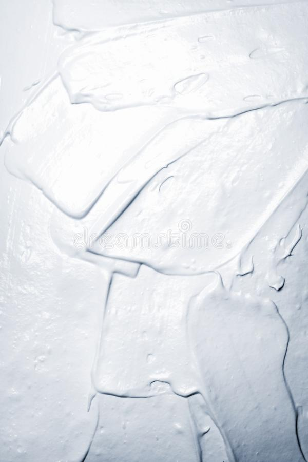 White gray creamy texture stock photo