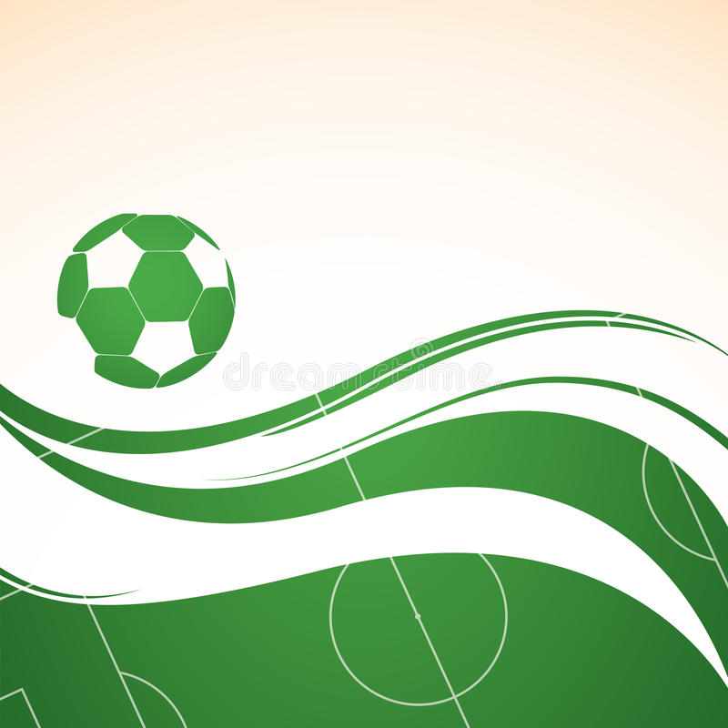 Download Abstract Football Background Stock Vector - Image: 23983792