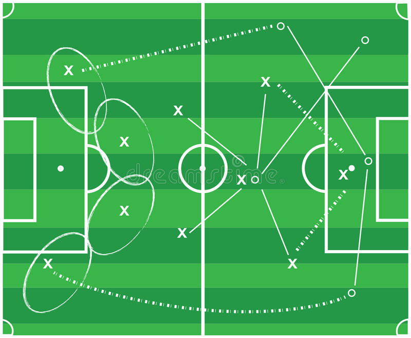 Download Football Tactic Royalty Free Stock Images - Image: 29914389