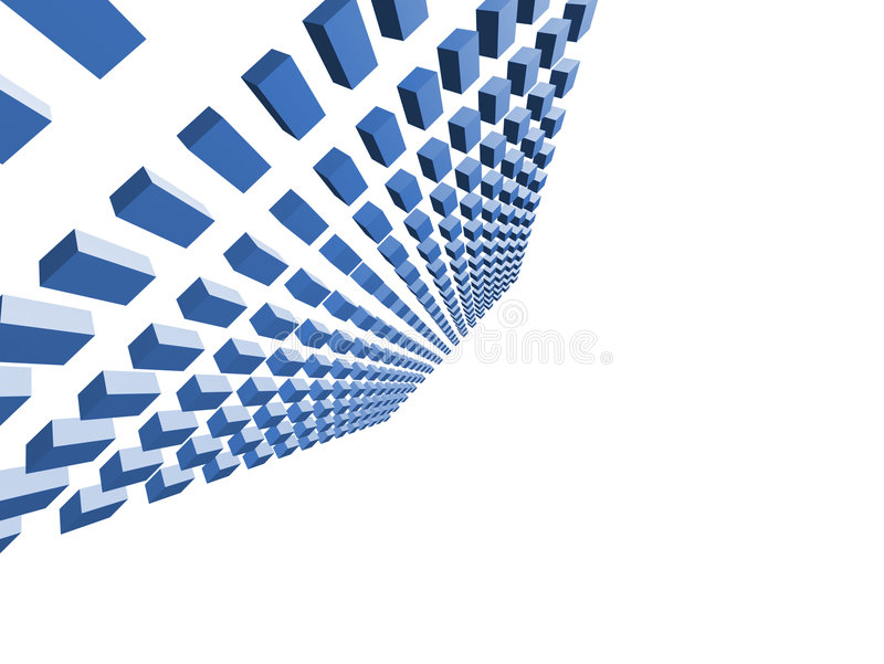 Abstract form stock illustration