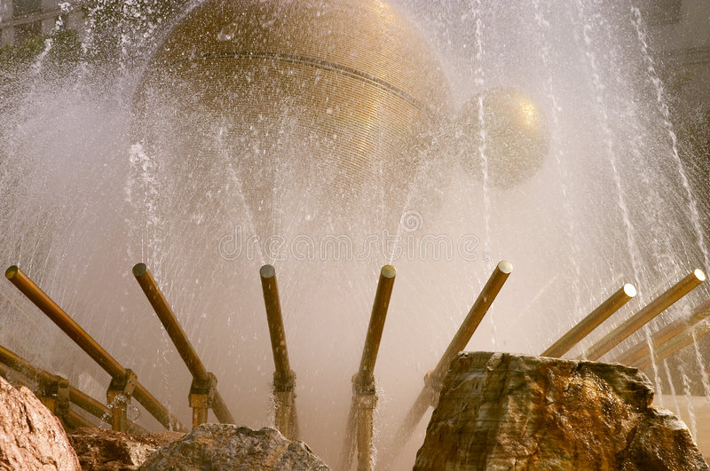 Abstract fountain stock images