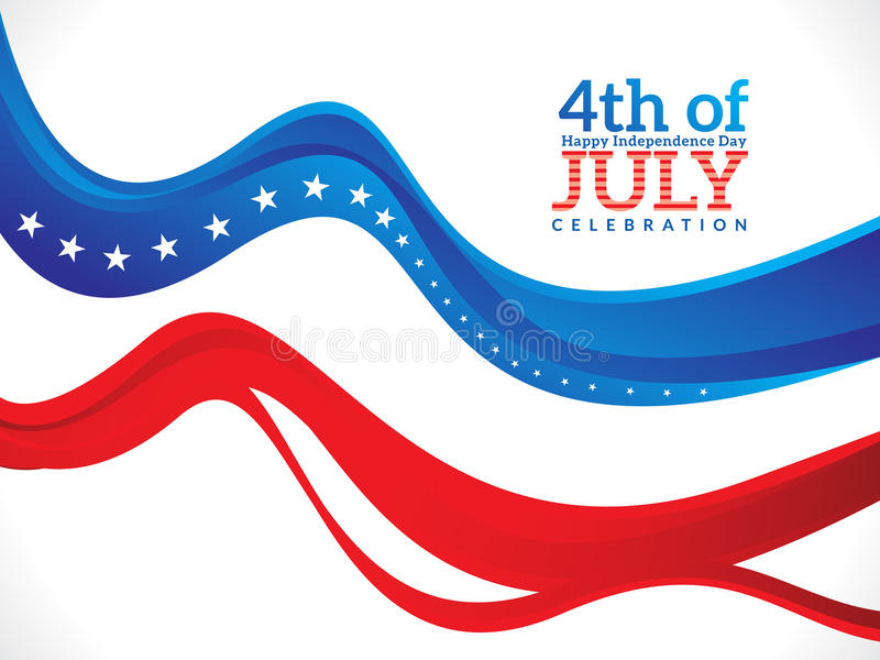 Abstract fourth of july background. Vector illustration vector illustration