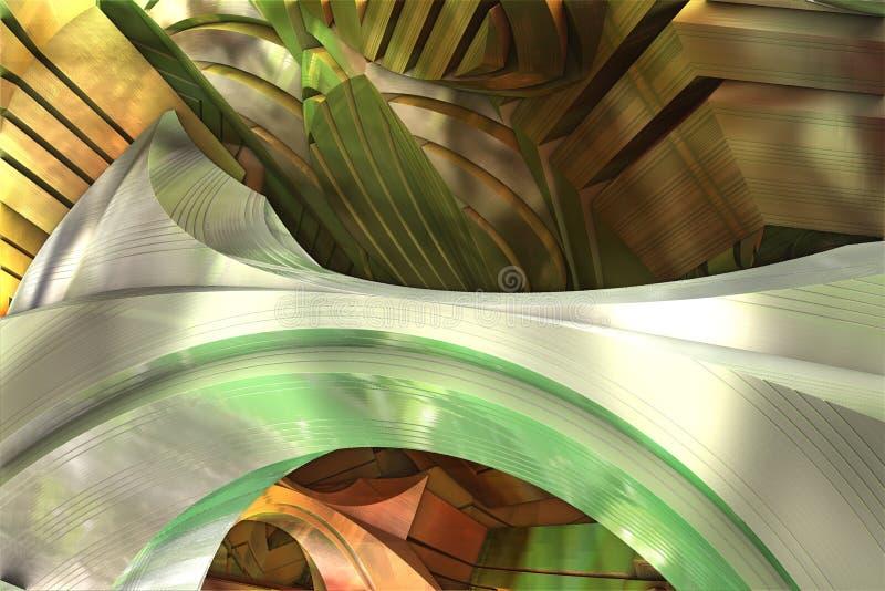 Download Abstract Fractal Background Stock Illustration - Image: 83713307