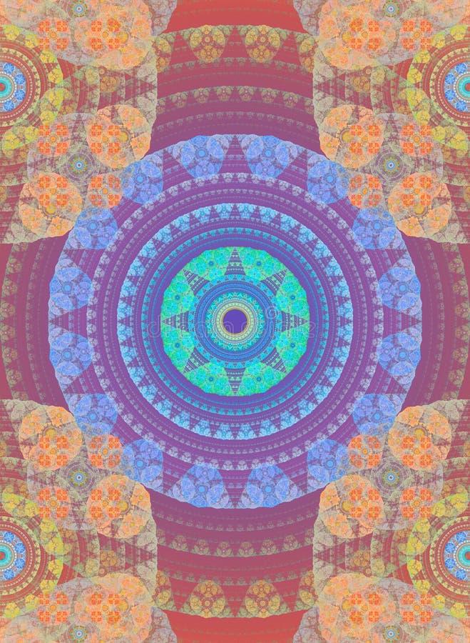 Download Abstract Fractal Background. Digital Collage. Stock Illustration - Image: 83723579