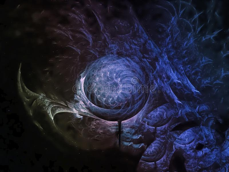 Abstract fractal background fantastic , beauty dark, surreal creative dynamic stock images