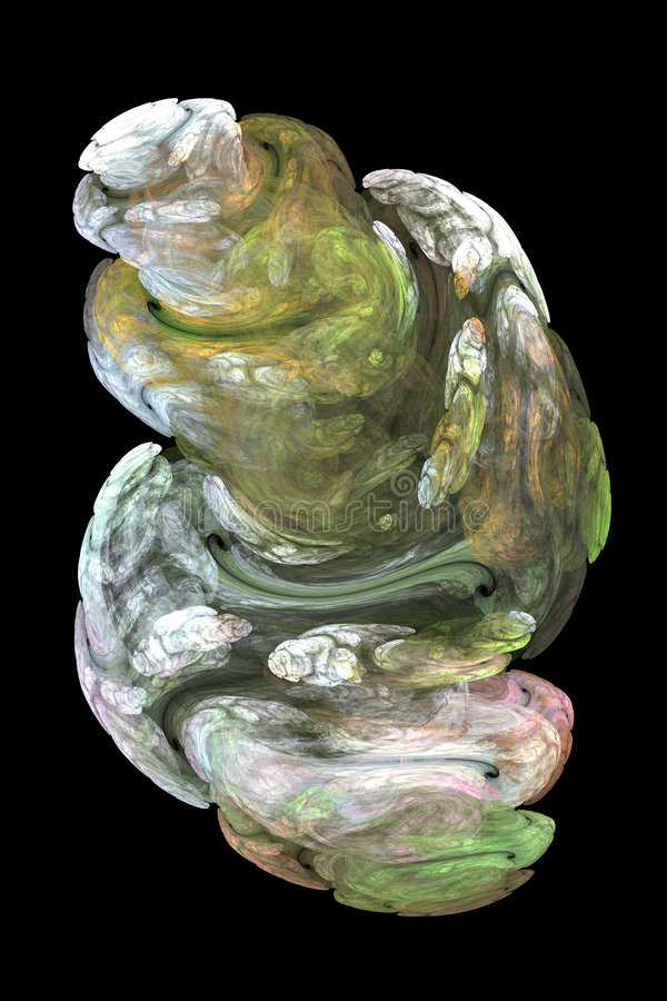 Abstract Fractal Beeld Royalty-vrije Stock Afbeelding