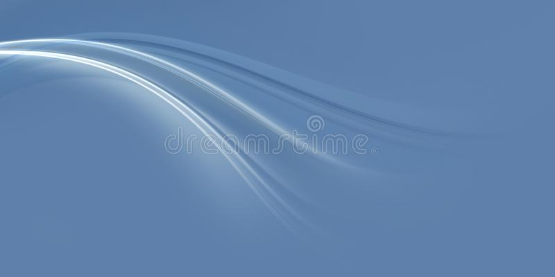 Abstract fractal blue background stock photo