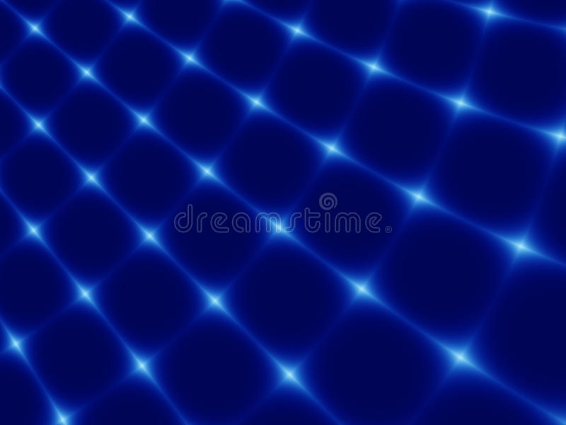 Abstract fractal blue background stock photography