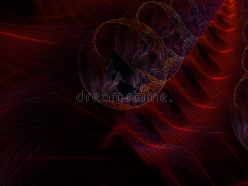 Abstract fractal color background decoration shape design wallpaper creative , template rendering illustration. Abstract fractal color background power royalty free illustration
