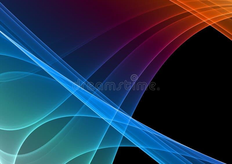 Abstract fractal design stock illustration