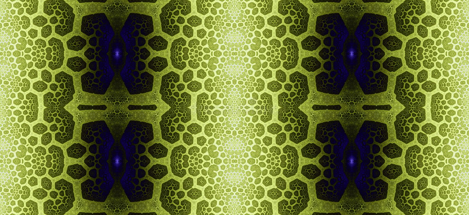 Abstract fractal high resolution seamless pattern for carpets, tapestries, fabric and wallpapers or any creative other use royalty free illustration