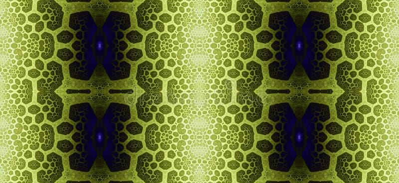 Abstract fractal hoge resolutie naadloos patroon voor tapijten, tapijtwerk, stof en behang of om het even welke creatief ander ge royalty-vrije illustratie