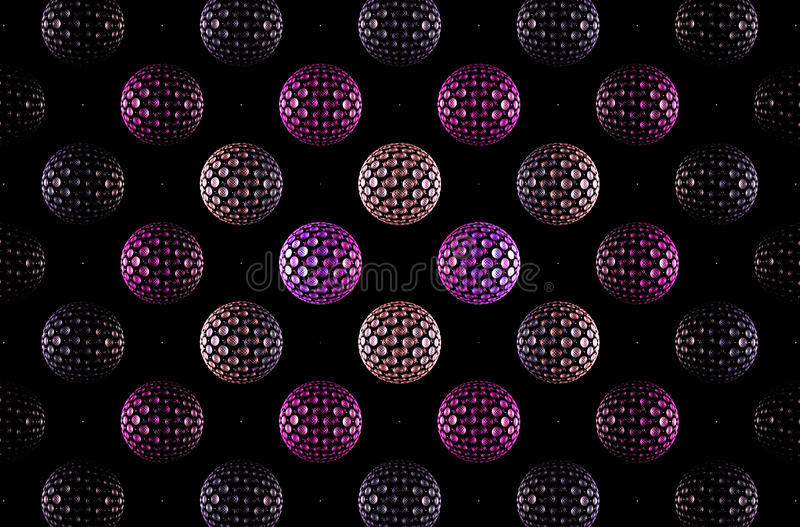 Abstract fractal image vector illustration