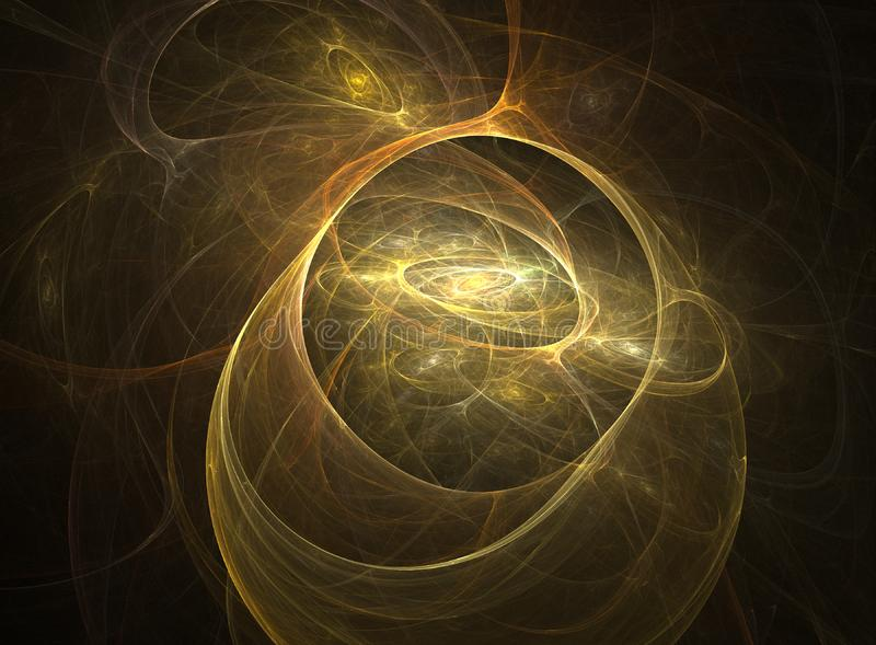 Abstract fractal universe royalty free stock photos