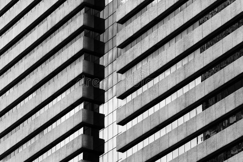 Abstract fragment of modern architecture stock images