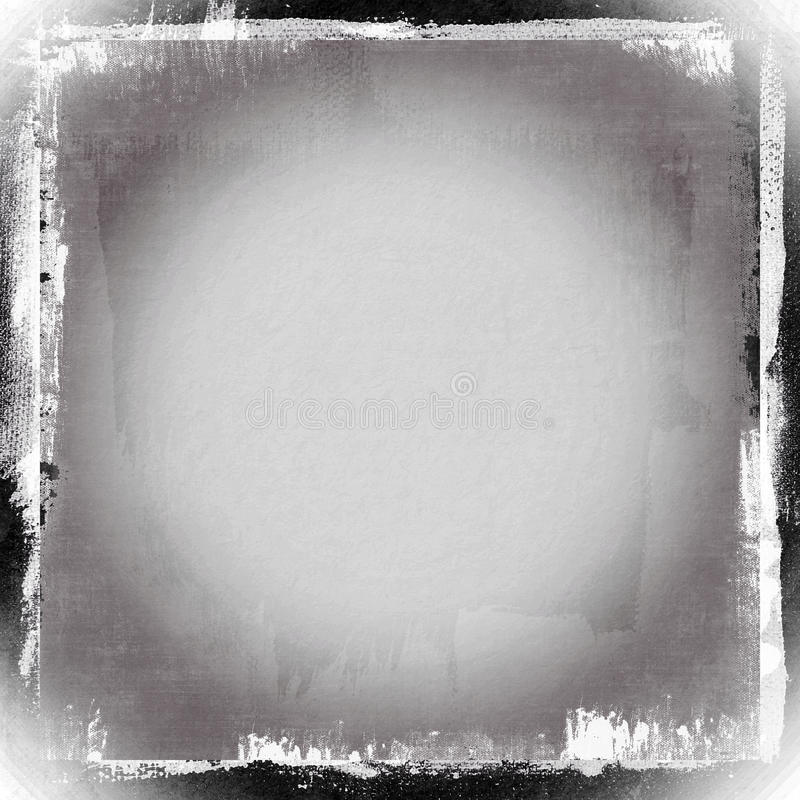 Abstract frame background, grunge texture stock illustration