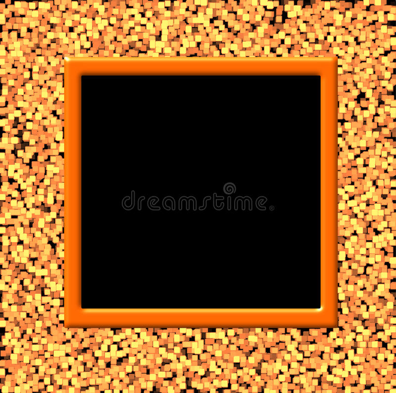 Abstract frame illustration stock photos