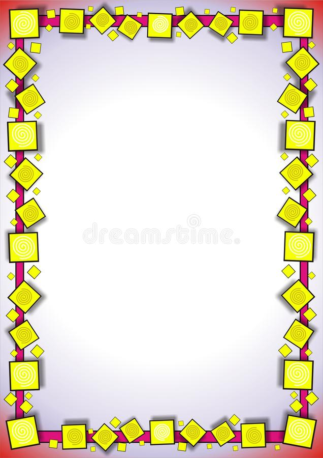 Download Abstract framework stock vector. Image of light, pattern - 16933978