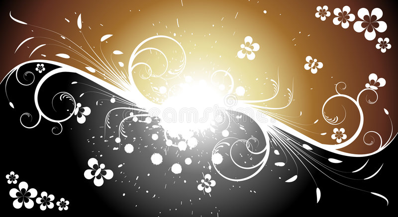 Abstract funeral background vector illustration