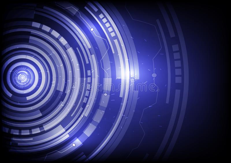 Abstract future technology concept background. Is a general illustration stock illustration