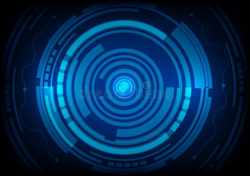 Abstract future technology concept background. Is a general illustration vector illustration