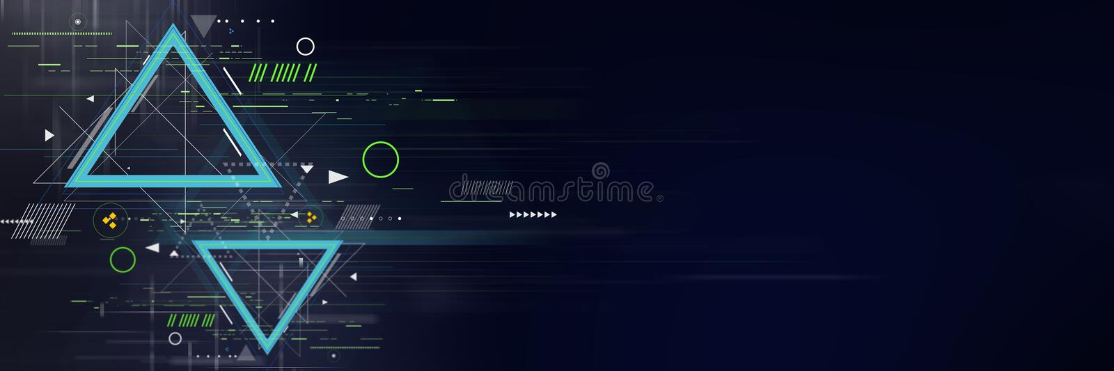 Abstract futuristic background. Abstract futuristic digital technology and science background stock photos