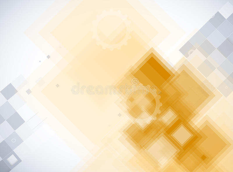 Abstract futuristic computer technology business background. Abstract futuristic fade computer technology business background royalty free illustration