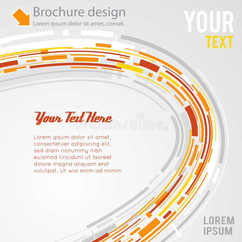 Abstract futuristic 3d vector background vector illustration