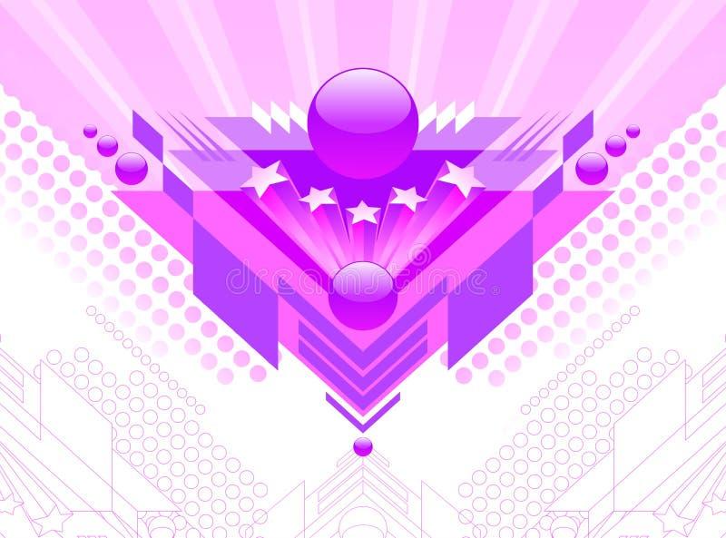 Abstract futuristic design