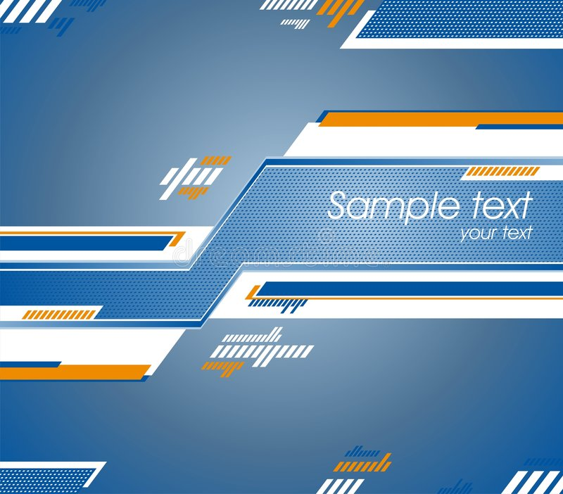 Abstract futuristic design. Can use as background royalty free illustration