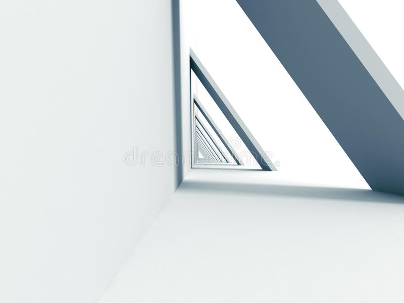 Abstract Futuristic Design Architectural Background stock photos