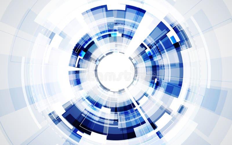 Abstract futuristic digital technology background. Illustration Vector. Innovation stock illustration