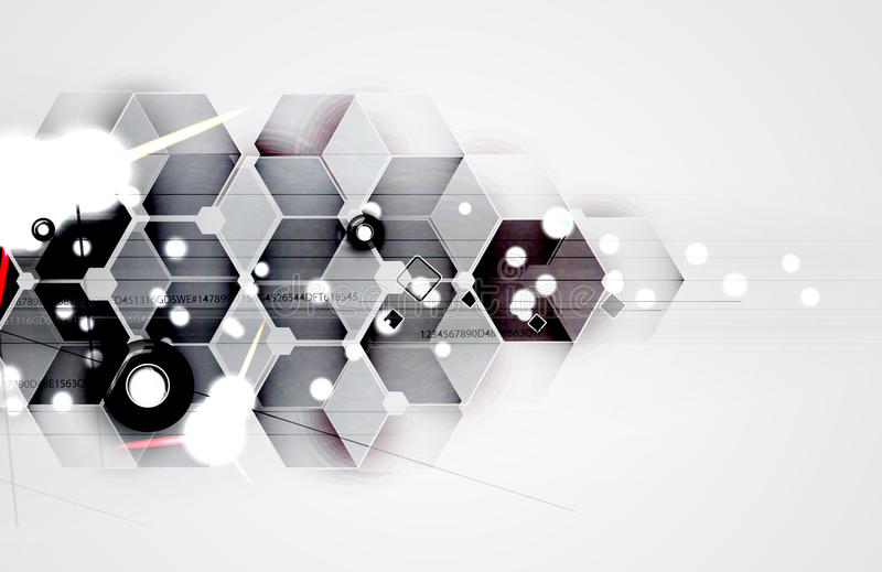Abstract futuristic fade computer technology business background stock photography