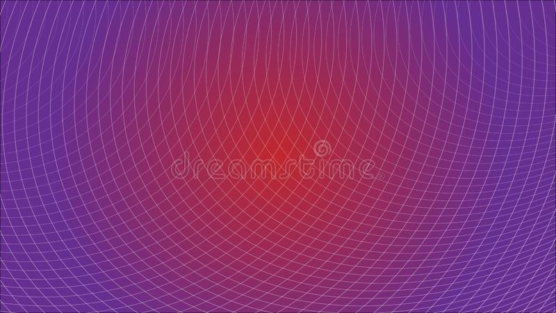 Abstract Futuristic Grid Gradient Network Web Background Scientific Engineering Information Technology Communication. stock illustration