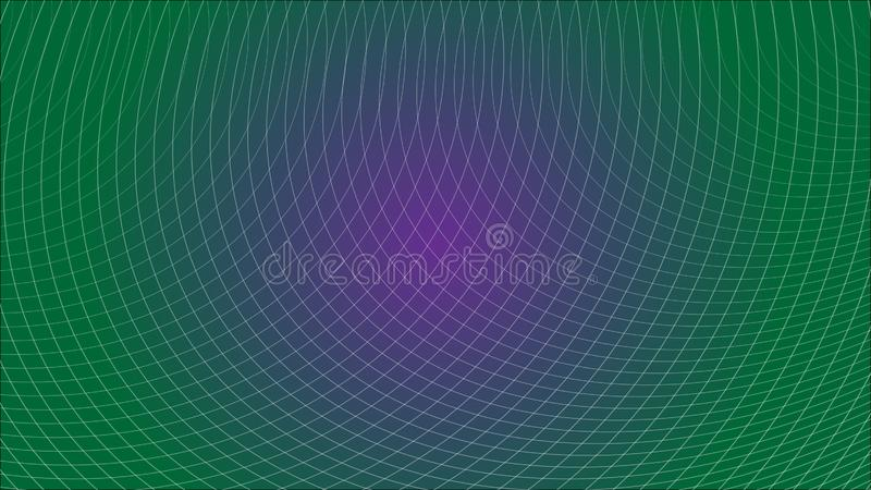 Abstract Futuristic Grid Gradient Network Web Background Scientific Engineering Information Technology Communication. Abstract Futuristic Grid Gradient Network royalty free illustration