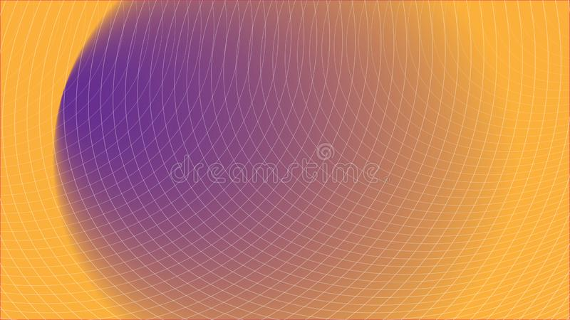 Abstract Futuristic Grid Gradient Network Web Background Scientific Engineering Information Technology Communication. Abstract Futuristic Grid Gradient Network vector illustration