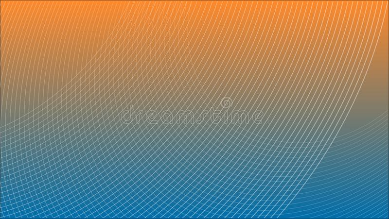 Abstract Futuristic Grid Gradient Network Web Background Scientific Engineering Information Technology Communication. vector illustration