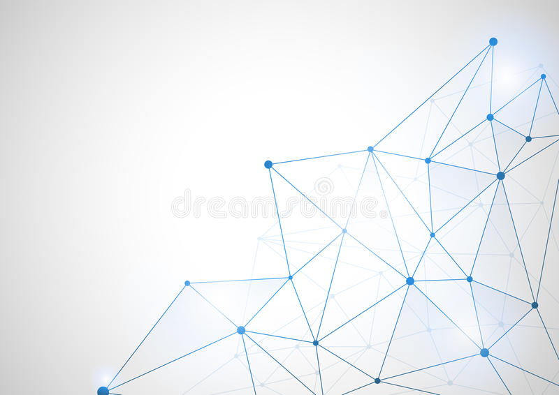 Abstract futuristic shape. Computer generated on white background vector illustration