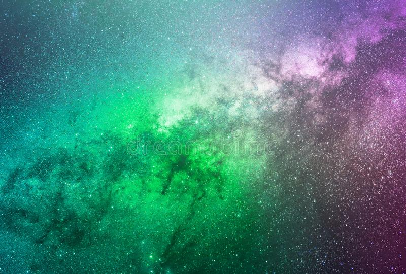 Abstract galaxy background with stars and planets with colorful galaxy motifs of universe night light space. With the best quality and resolution royalty free stock photos