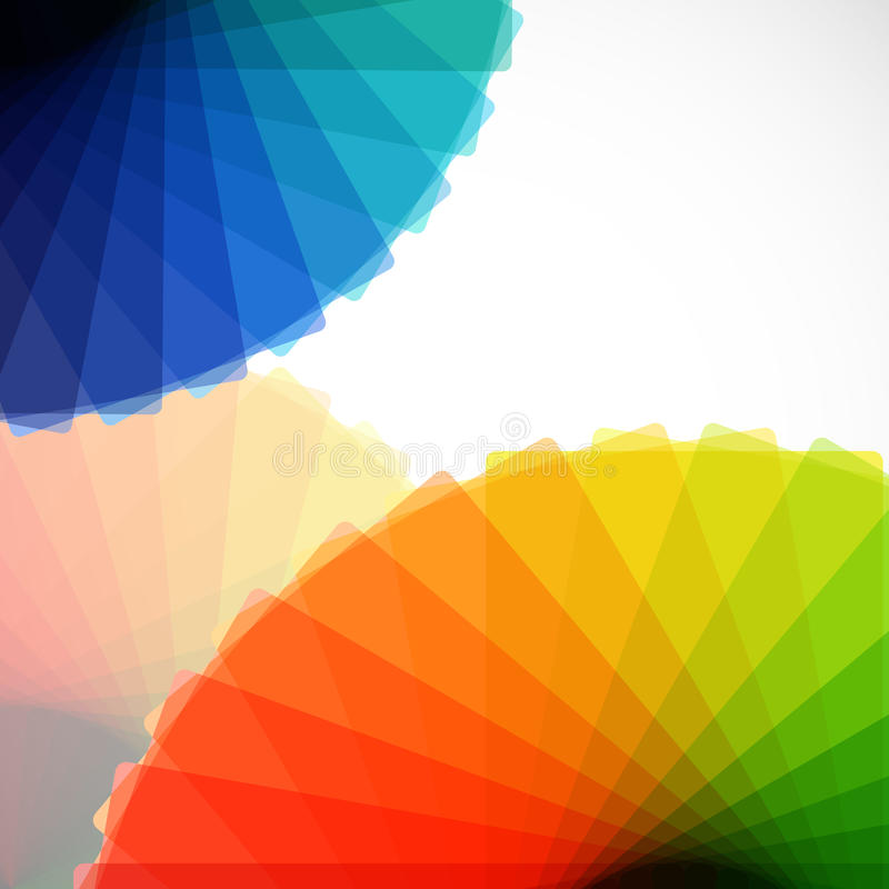 Abstract gamut backgrounds. royalty free illustration