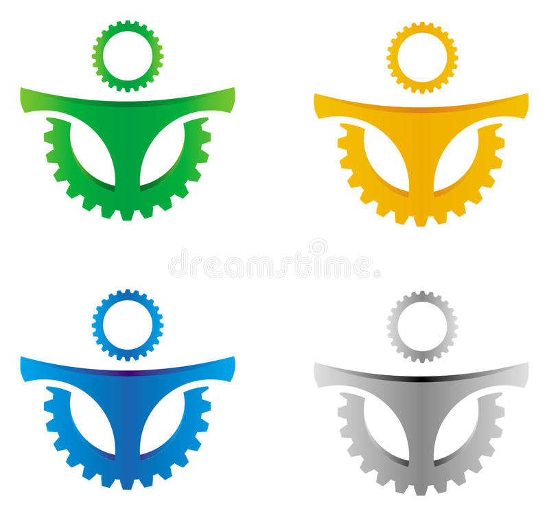 Abstract Gear Royalty Free Stock Images