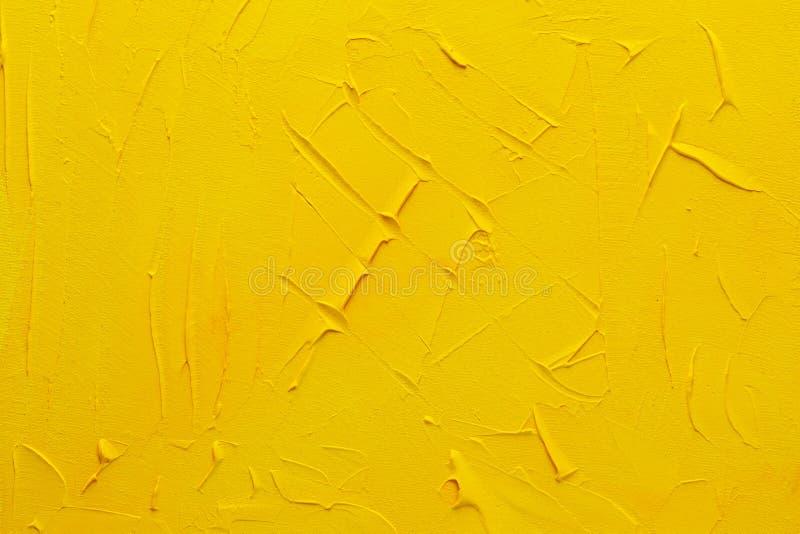 Abstract gele slijmvliesachtergrond stock fotografie